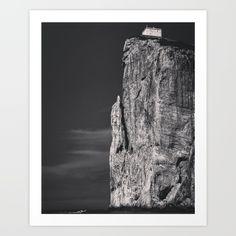 Black+Ocean+Art+Print+by+Steffen+Glaeser+-+$20.00