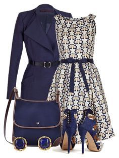 With LOve... by nadia-nibte on Polyvore featuring polyvore, fashion, style, People Tree, Martin Grant, Aperlaï, Dooney & Bourke, Elizabeth and James and clothing
