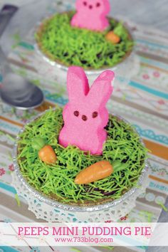 No-Bake PEEPS Mini P
