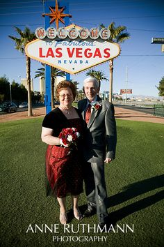 Renew your vows under the Las Vegas Sign
