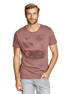 Image for Wilderness Print Tee from Just Jeans Denim Branding, New Man, Printed Tees, Mens Clothing Styles, Wilderness, Fashion Outfits, Shorts, Jeans, Mens Tops