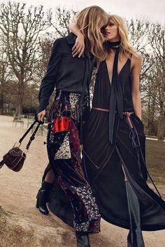 bohemian fashion editorial fall 2015
