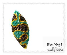 3 Ring Patterns! Mad Rings 1, 3 & 4 Bead Weaving Pattern Peyote Stitch Tribal Ring Level: Intermediate - must know how to read a charted pattern  Techniques: Peyote Stitch - Knowledge of Peyote and how to read a charted pattern is required Material requirements: 11o Delica Beads  7 pages to print - Three charted and numbered, full color graph patterns of the 3 Tribal Rings pictured on the cover and a step by Step Beading Pattern with full colour diagrams and a written Beading Tutorial on ...
