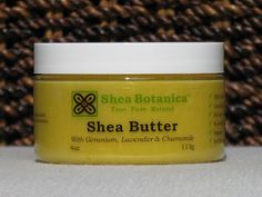 Unrefined Organic Shea butter w/essential oils