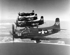 Eyes to the Skies — A-1 skyraiders in formation