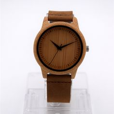 Hot Selling Japanese MIYOTA Movement Wristwatch Genuine Leather Bamboo Wooden Watches For Men And Women Bracelet Just look, that`s outstanding!  #shop #beauty #Woman's fashion #Products #Watch