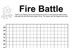 Coordinate grid practice pairs game. Mathematics, Burns, Grid, Battle, Pairs, Math