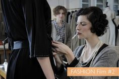 Fashion movie: Coco Chanel & Igor Stravinsky from 2009. The costume has some original Chanel pieces and some designed by Karl Lagerfeld, all of them just amazing.