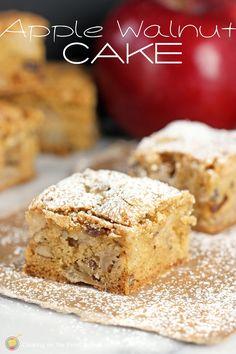 Apple Walnut Cake | Cooking on the Front Burner
