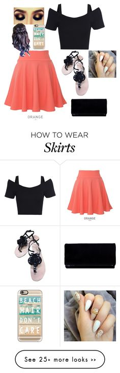 """""""I have a skirt just like it"""" by babygirl-99mistitude on Polyvore featuring Anne Fontaine, QNIGIRLS and Casetify"""