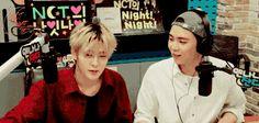 Jaehyun and Johnny NCT