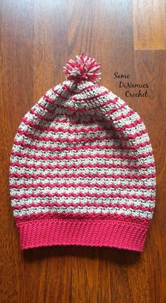 Get your complimentary pattern for the Bon Bon Kisses Slouchy Hat today.  Pick up this free crochet pattern from Cre8tion Crochet - a design by Dianne of Same DiNamics Crochet.