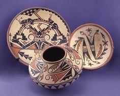 Maria Martinez polychrome pottery Courtesy of Mark Sublette Medicine Man Gallery