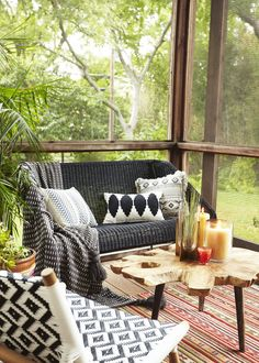 A Bohemian Meets MCM Dallas House (+ Perfect Patio)