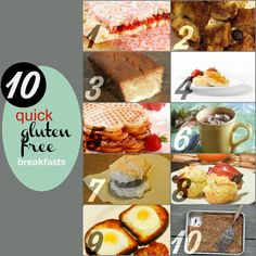 10 Quick and Easy Breakfast Ideas