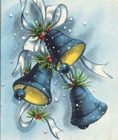 69 Ideas for painting christmas navidad Vintage Christmas Images, Retro Christmas, Vintage Holiday, Christmas Pictures, Christmas Art, Vintage Greeting Cards, Christmas Greeting Cards, Christmas Greetings, Vintage Postcards