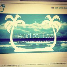 Head to Toe Home Beauty website - www.hometotoehomebeauty.co.uk