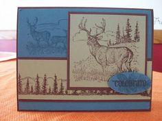 Deer FIL by jennae - Cards and Paper Crafts at Splitcoaststampers