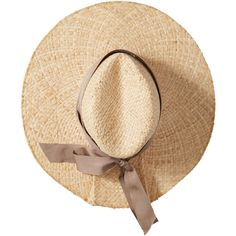 Lola Hats Convertible Raffia Sunhat ($195) ❤ liked on Polyvore featuring accessories, hats, sun hat, raffia hat, beach sun hat, beach hat and adjustable hats