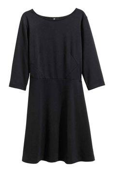 Vestido de punto negro 14,99 € - H&M
