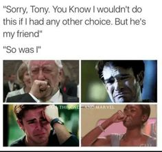 Really Marvel you have to make us cry at EVERY SINGLE MOVIE?!