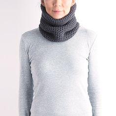 Unisex neck warmer, wool mask, knit neckwarmer, knit cow, chunky knit snood, gray neckwarmer,  black knit cowl, ski mask, navy knit cowl