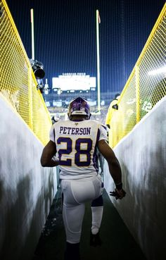 Adrian Peterson #Entrance