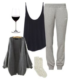 cozy lounge outfit win joggers and an oversized sweater