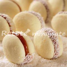 Fursecuri cu gem – reteta pentru diabetici - logo nou Romanian Food, Romanian Recipes, Sugar Free Desserts, Dessert Recipes, Diabetic Friendly, Raw Vegan, Sweet Tooth, Tamara, Deserts