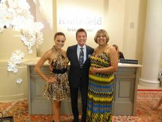 Ashley Boalch pictured here with the man of the hour, Randy Fenoli and her lovely mother Sheila Matthews.