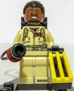 Lego Ghostbusters Winston Zeddemore Minifigure 21108 RARE Ideas Ghost Busters #LEGO