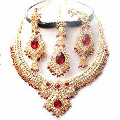 Diamond Bridal Jewelry Set NP-77