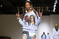 Black Is the New Black When It Comes to the Gorgeous Models on This Designer's Runway
