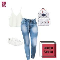 Para ti #Look #SportyChic este #Outfit es perfecto. www.paris-jeans.com  #ParisJeans #Outfit #Estilo #Moda  #Mujer #Tendencia