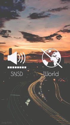 SNSD On x World Off