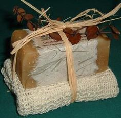 Chagrin Valley Soap.  (I may be biased, but this IS the best soap ever.)