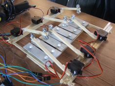 This is the Xylobot, our submission for the Berlin Music Hack Day, held on September at Radialsystem V. A custom Java app receives midi data from the step… Music Hacks, Art And Technology, Camping Hacks, Arduino, Hold On, Submission, Java, Berlin, Connection