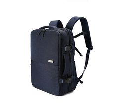 Padded and adjustable shoulder straps with top carrying handle. Outer material is made from Nylon and polyester. Laptop compartment can accommodate up to a 15 laptop screen. Media pocket is perfect for tablets and iPads®. Main compartment has multiple walls so you can keep paperwork and other documents neatly sorted. Use for school bag and for work. Include waterproof cover for backpack.  Color : Navy Size: 31cm(W), 47cm(H), 13cm(D)  3 colors are available: Gray, Navy, Black Navy https:/...
