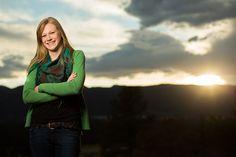 Colorado Springs senior portrait