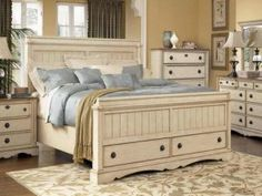 White Distressed Bedroom Furniture Sets