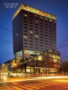 Ateliers Jean Nouvel designed the Sofitel Vienna Stephansdom hotel as a kind of provocation-but also as a beacon.