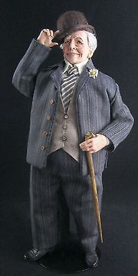 "Dollhouse doll ""The Gentleman"" by Marcia Backstrom OOAK"