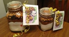 Ideas originales para regalar: recetas instantáneas en frascos