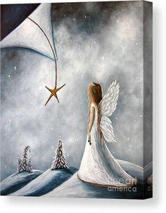 Christmas Star, Christmas Angels, White Christmas, Christmas Artwork, Christmas Fairy, Christmas Paintings, Christmas Wishes, Beautiful Christmas, Merry Christmas
