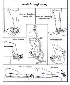 Ankle Strengthening Activities