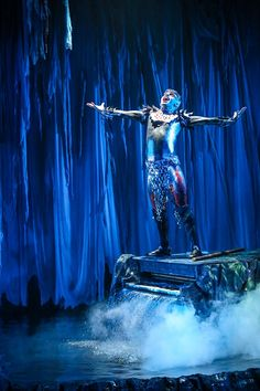 The Tempest | Synetic Theater -- The set...that waterfall piano....the water all over the stage....perfection.
