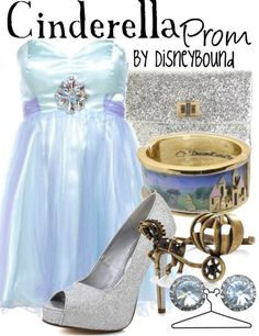Cinderella | Community Post: 16 Disney-fied Prom Ensembles