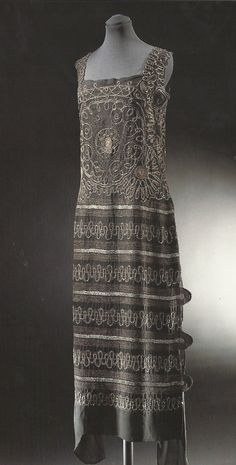 Evening Dress by Coco Chanel, 1922, via The Victoria & Albert Museum.