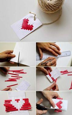 DIY - The Valentine 's Day Candy - Geschenkartikel - Saint Valentin Valentines Bricolage, Valentines Diy, Pinterest Valentines, Diy Origami, Diy And Crafts, Crafts For Kids, Arts And Crafts, Saint Valentin Diy, Tarjetas Diy
