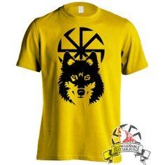 Koszulka Wilcza Swarzyca - Żółta